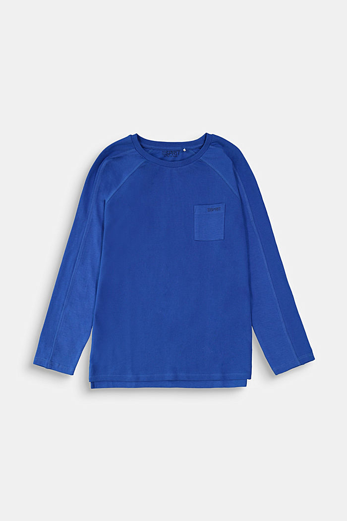 Statement long sleeve top made of 100% cotton