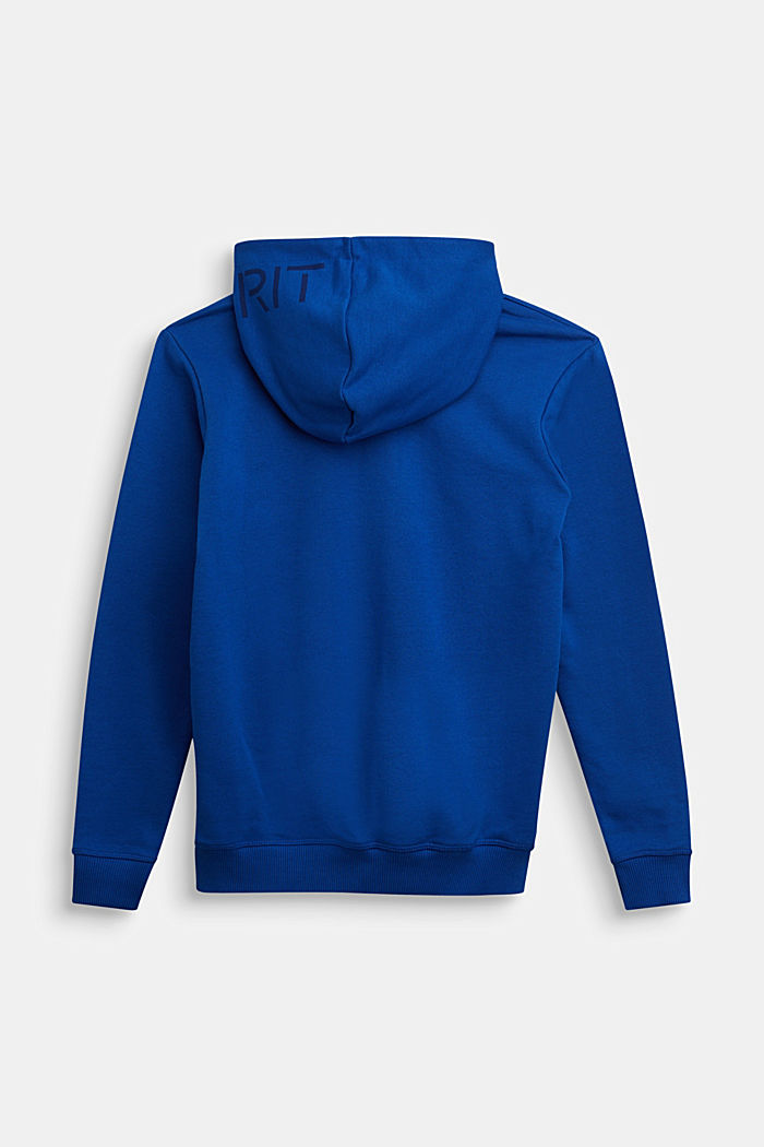 Sweatshirt jacket made of 100% cotton