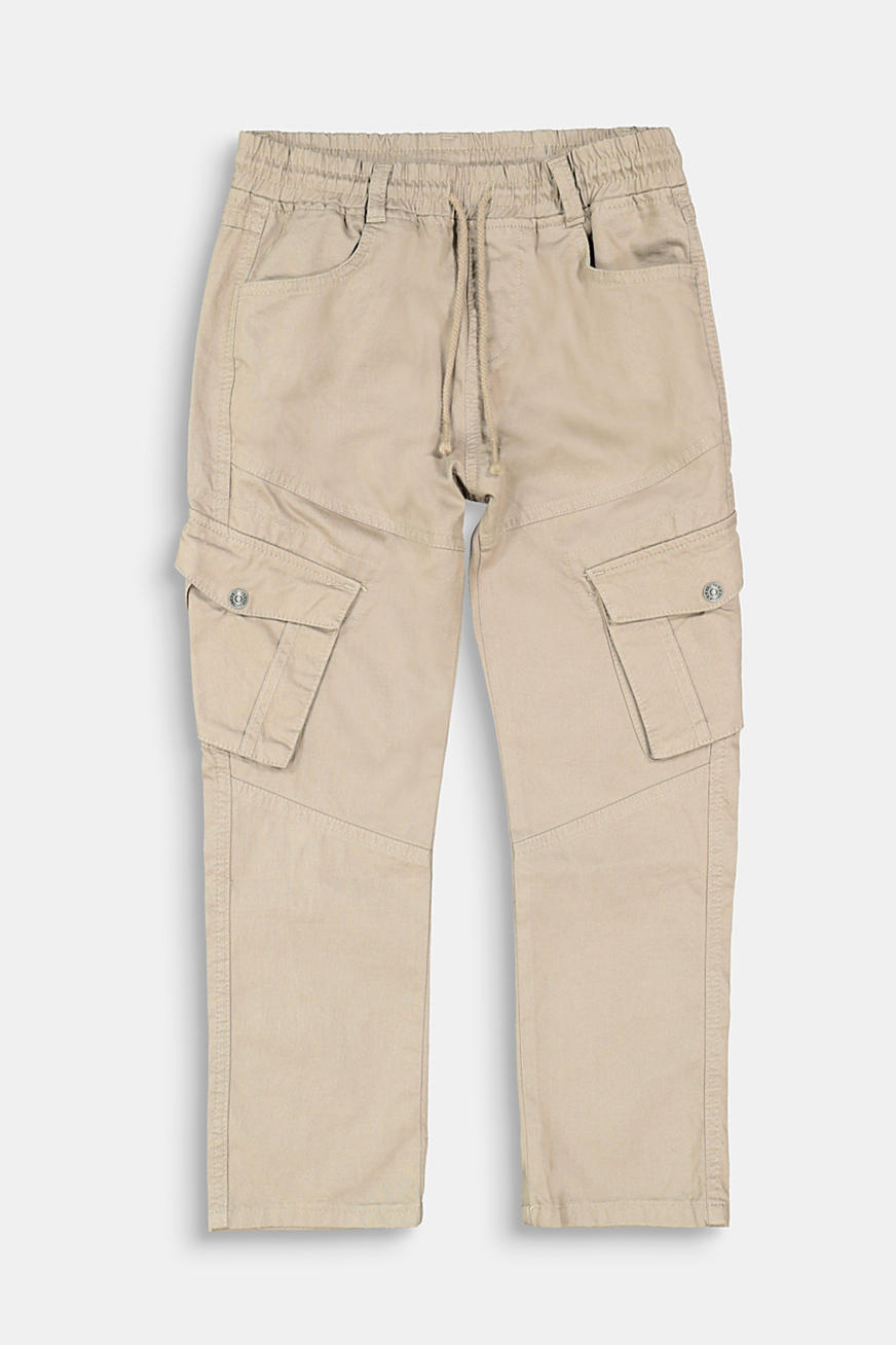 Pantalon cargo en coton stretch