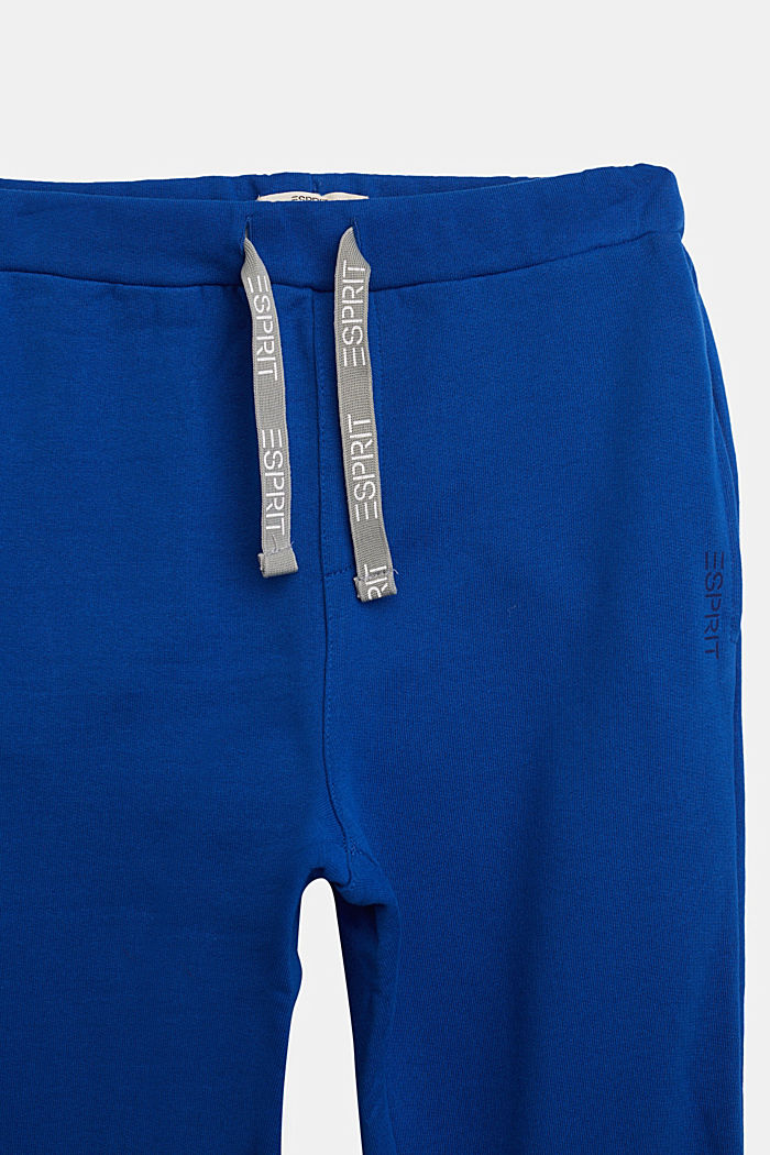 Tracksuit bottoms in 100% cotton, BRIGHT BLUE, detail image number 2