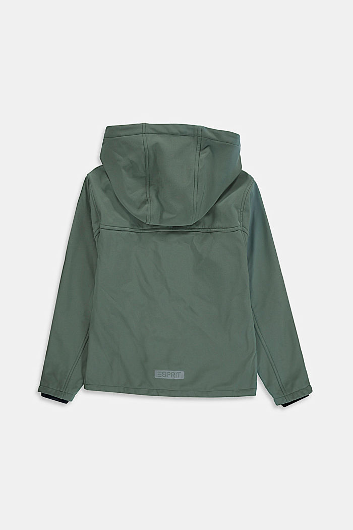 Softshell jas met reflecterende details