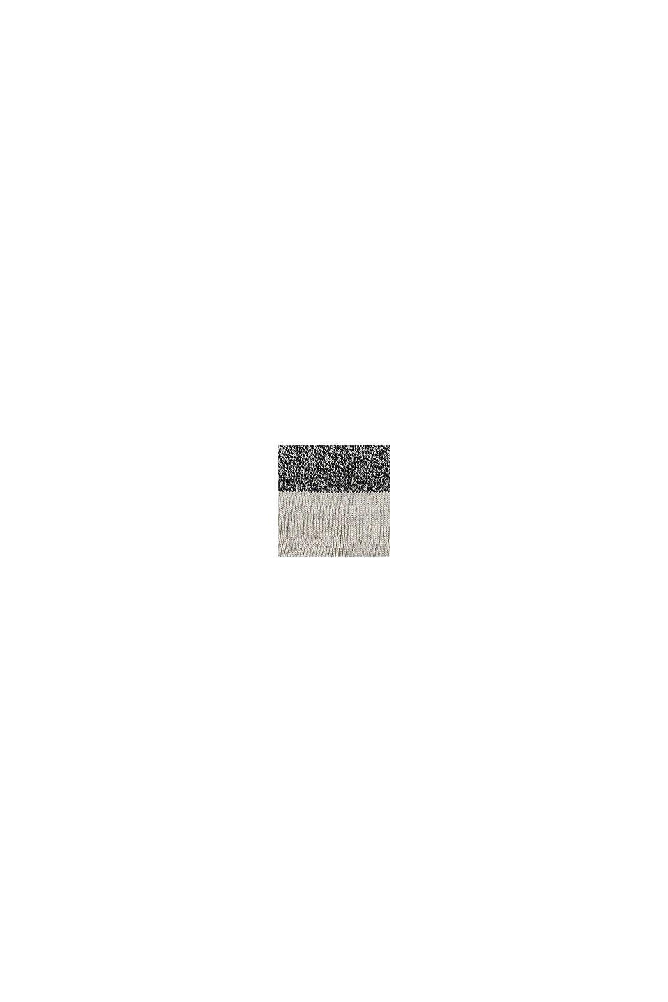 Gorro con diseño de bloques de color, MEDIUM GREY, swatch