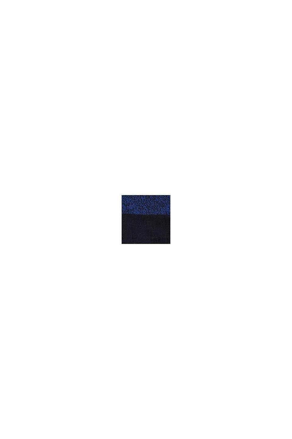 Gorro con diseño de bloques de color, NAVY, swatch