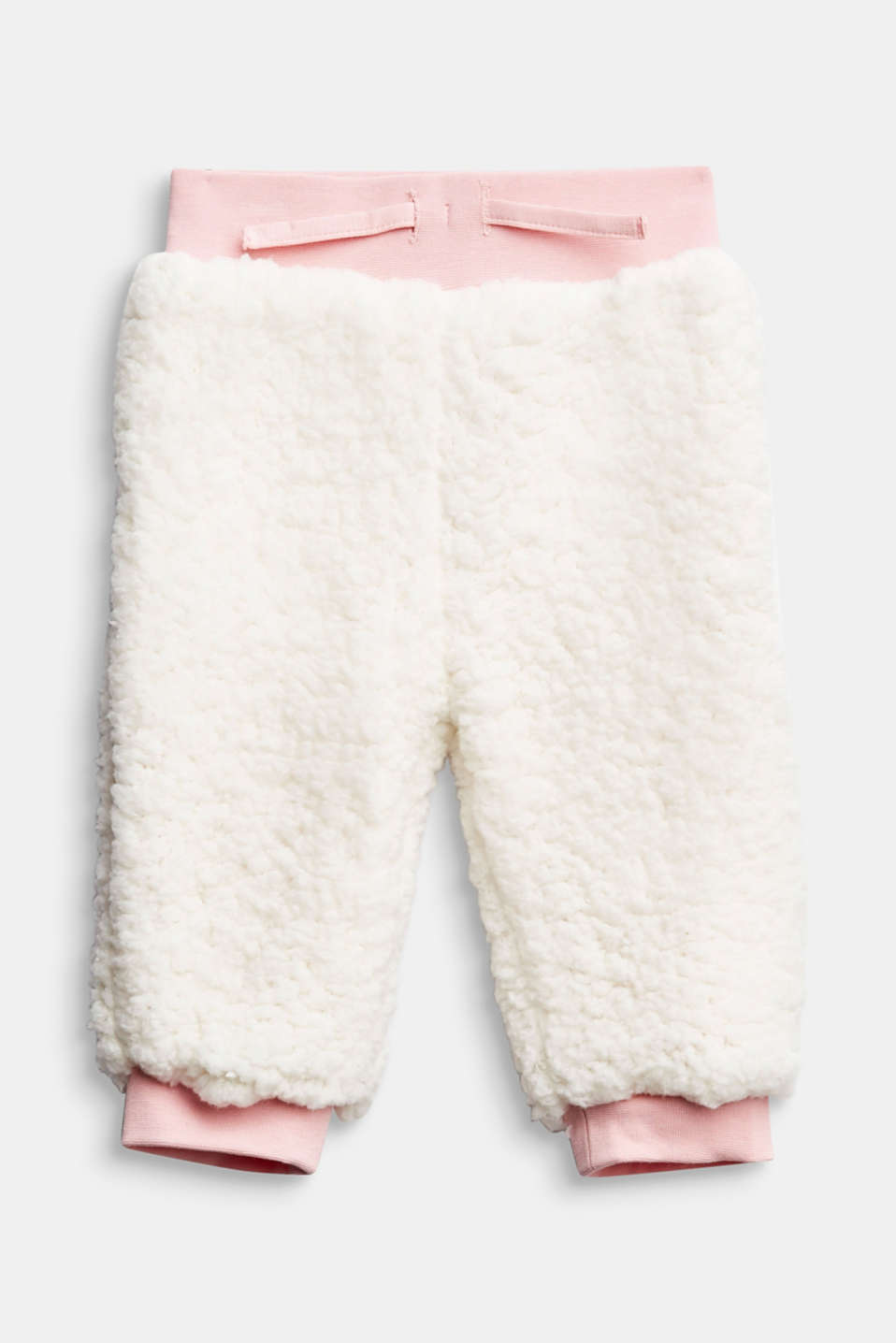 Esprit - Teddy-Sweatpants mit Organic Cotton