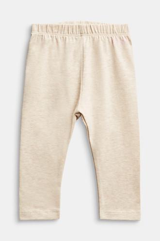 Melange leggings, organic cotton