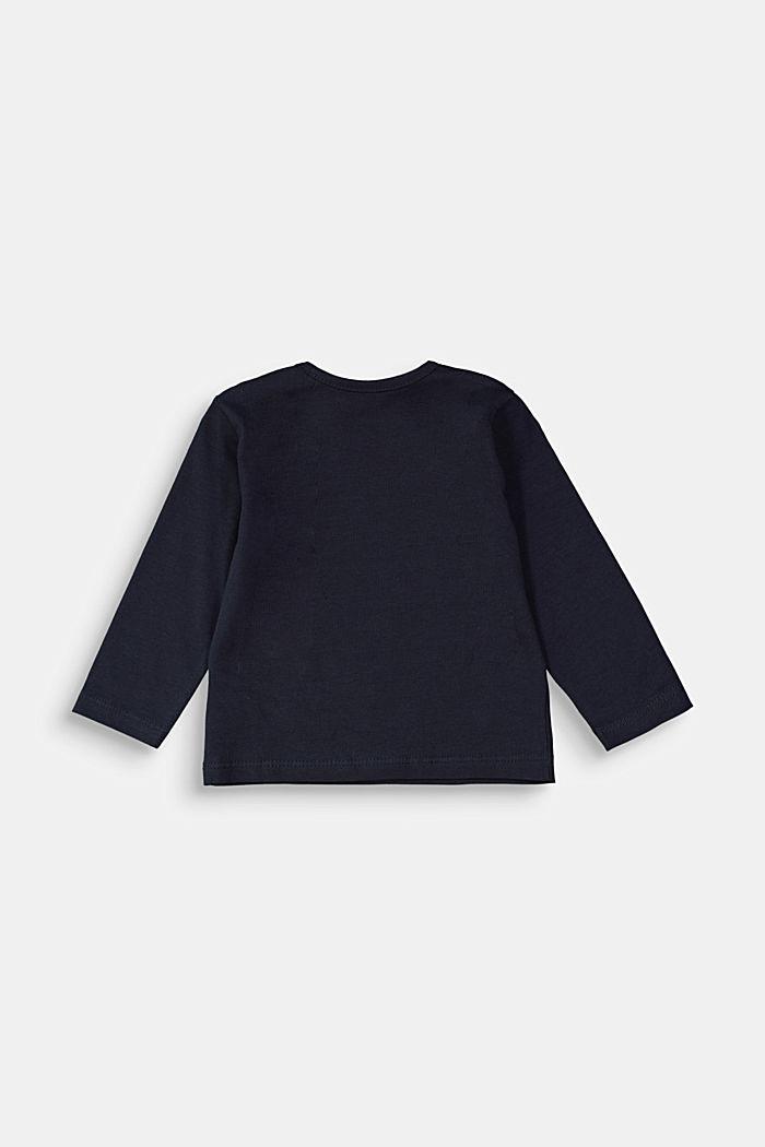 T-Shirts, NAVY, detail image number 1