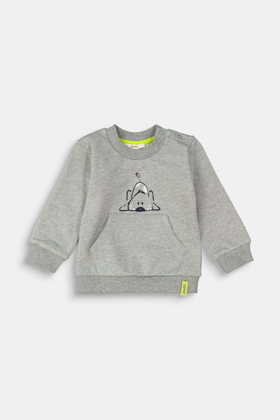 Esprit - Sweat-shirt à motif animal, 100 % coton biologique