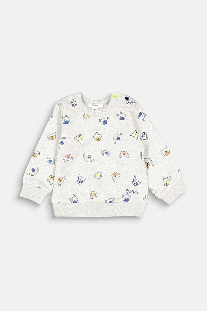 Sweatshirt, MEDIUM GREY, detail image number 1
