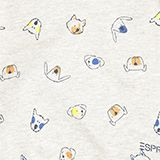 Sweatshirt mit Tier-Print, 100% Bio-Baumwolle, MEDIUM GREY, swatch