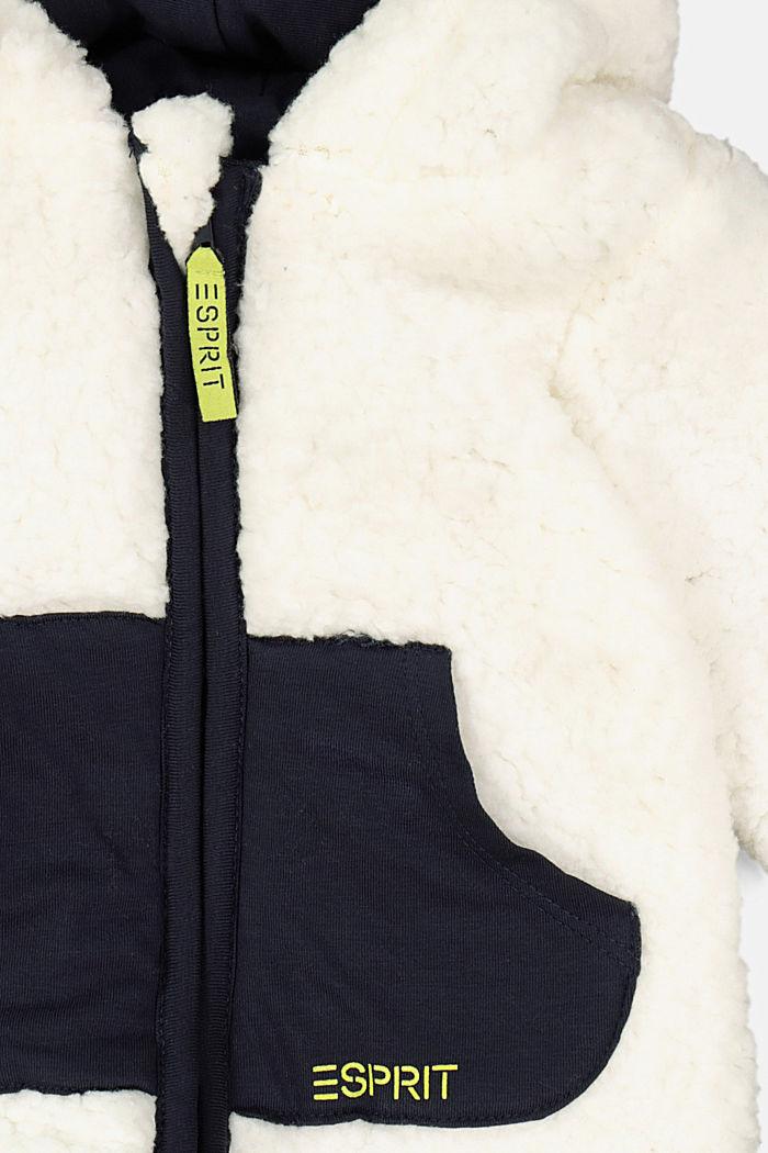 Sweatshirts cardigan, SKIN BEIGE, detail image number 2