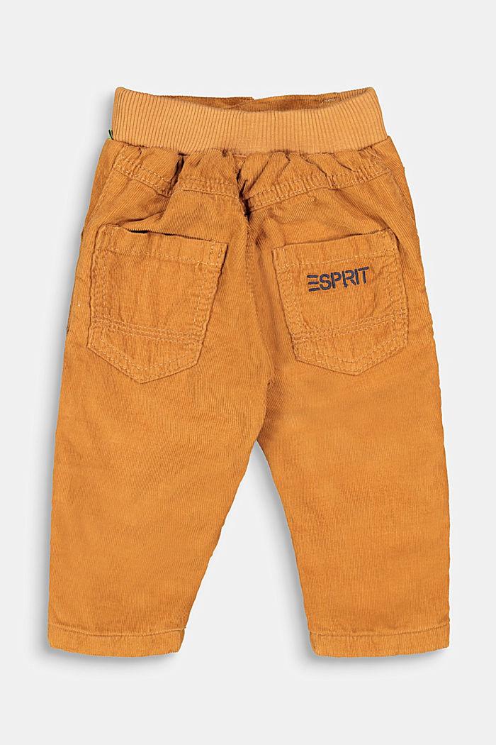 Schlupf-Hose aus Cord mit Jersey-Futter