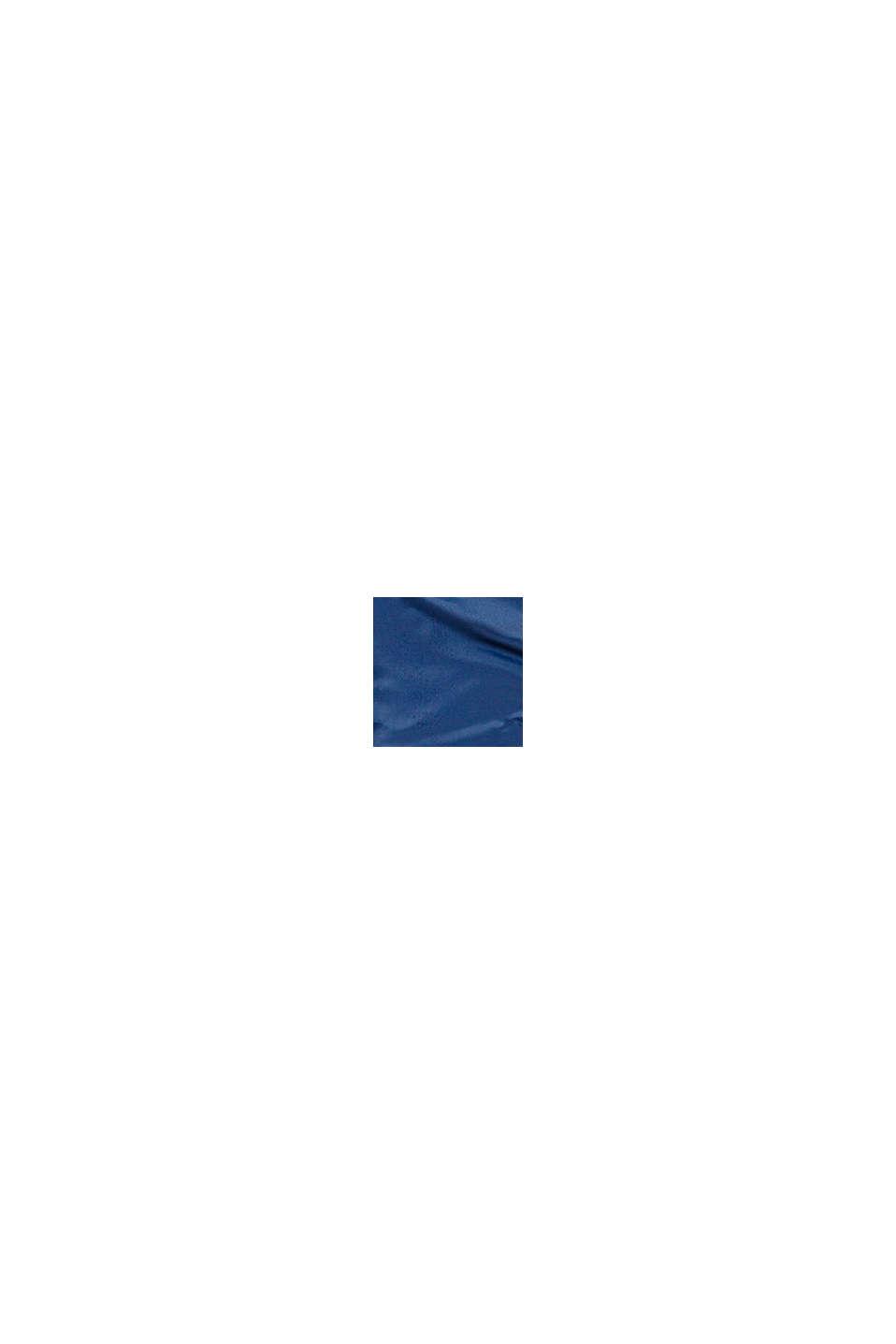Wattierte Steppjacke mit Fleecefutter, BLUE, swatch