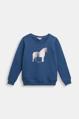 Sweatshirt, BLUE, detail