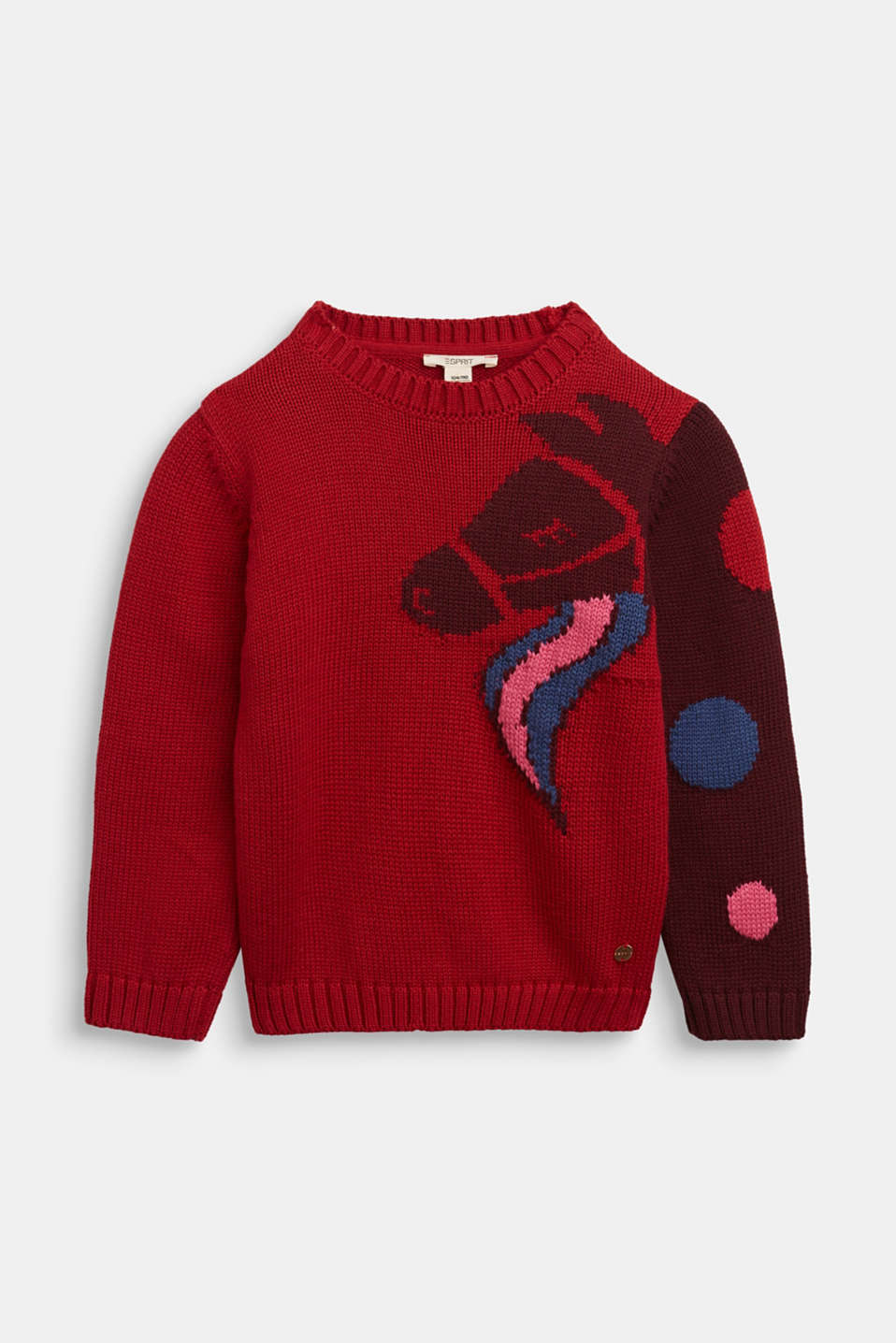 Esprit - Jumper with a horse motif