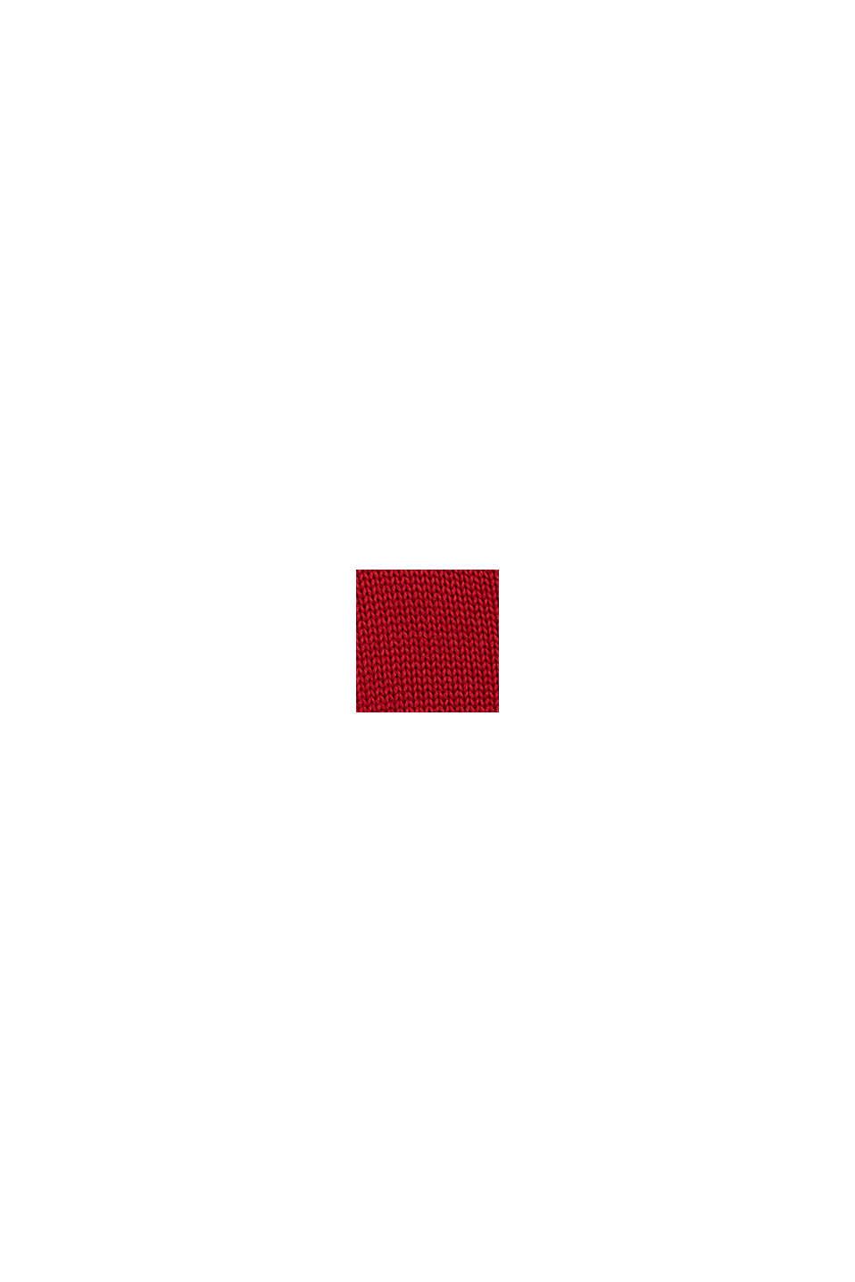Sweter z motywem konika, RED, swatch
