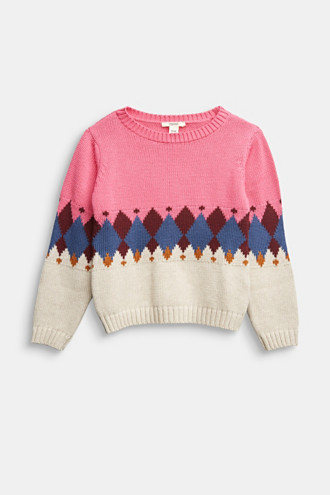 Jumper with jacquard pattern