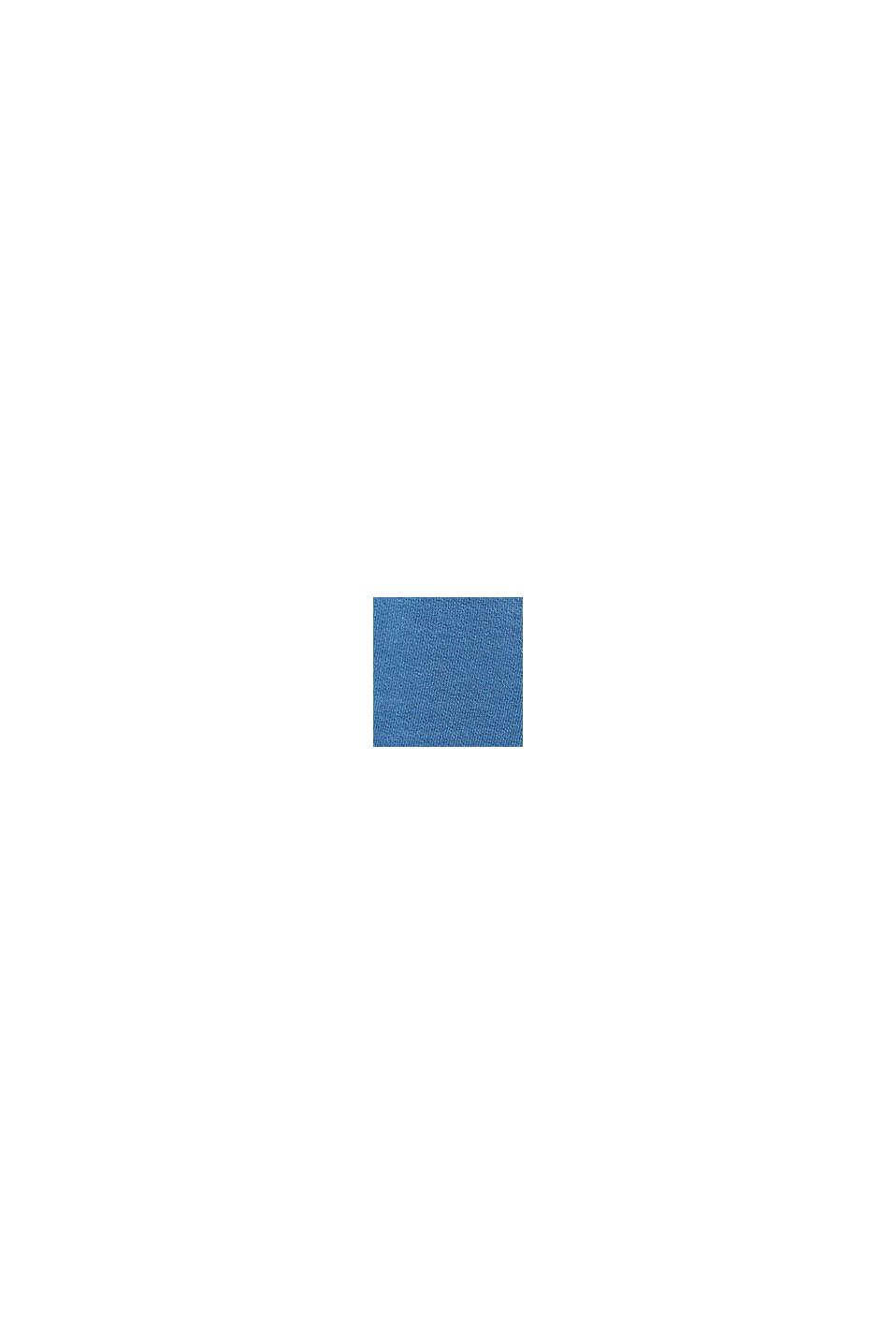 Joggingbyxa i 100% bomull, BLUE, swatch