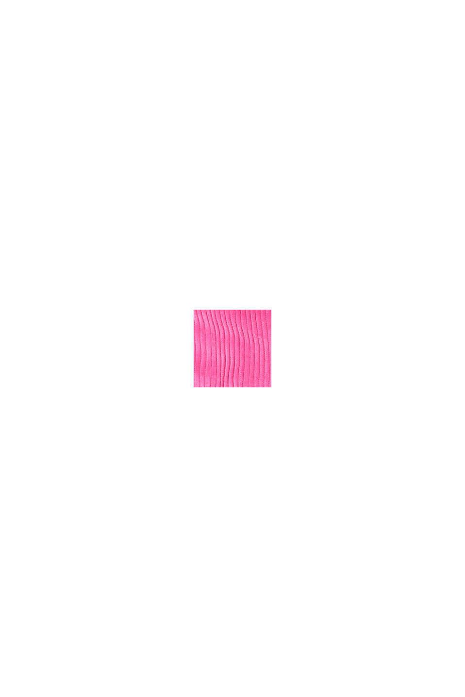 Veste d´extérieur rembourrée en velours côtelé, PINK, swatch