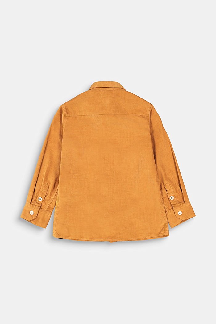 Corduroy shirt made of 100% cotton