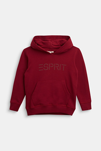 Hoodie with a logo, 100% cotton