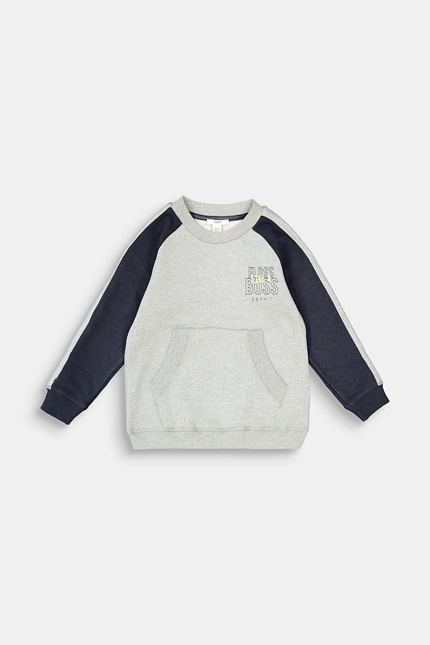 Sweat-shirt à imprimé, 100 % coton