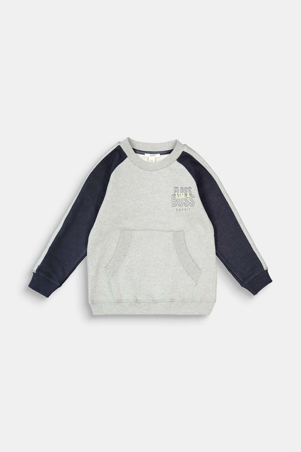 Esprit - Sweatshirt with a print, 100% cotton