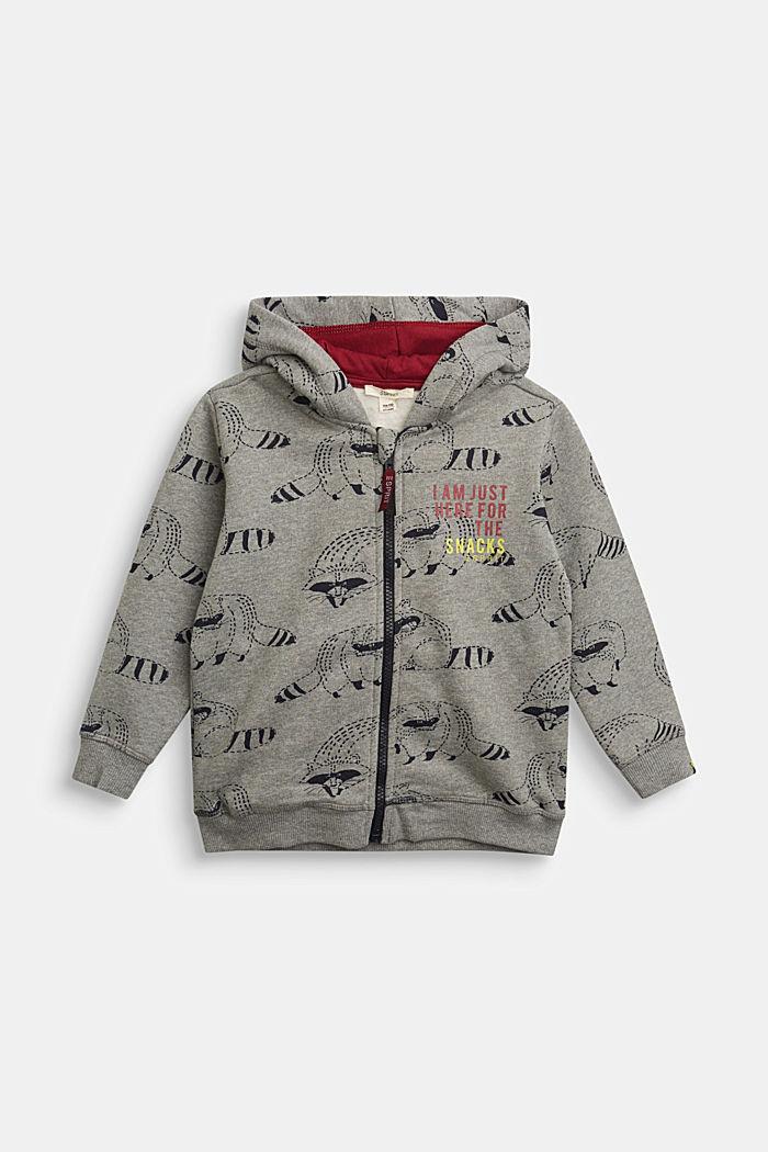 Fashion Cardigan, DARK GREY, detail image number 0