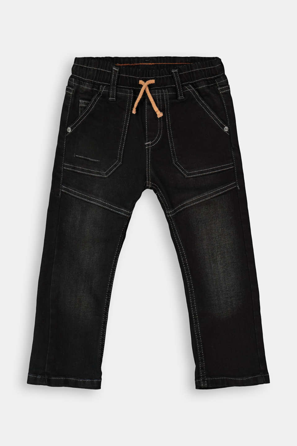 Esprit - Pull-on jeans in a worker look
