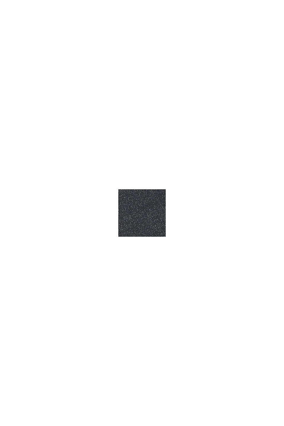 Tričko sdlouhým rukávem, ze 100% bavlny, BLACK, swatch
