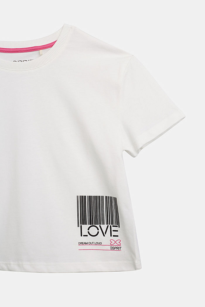 Jersey T-shirt in 100% cotton, SKIN BEIGE, detail image number 2