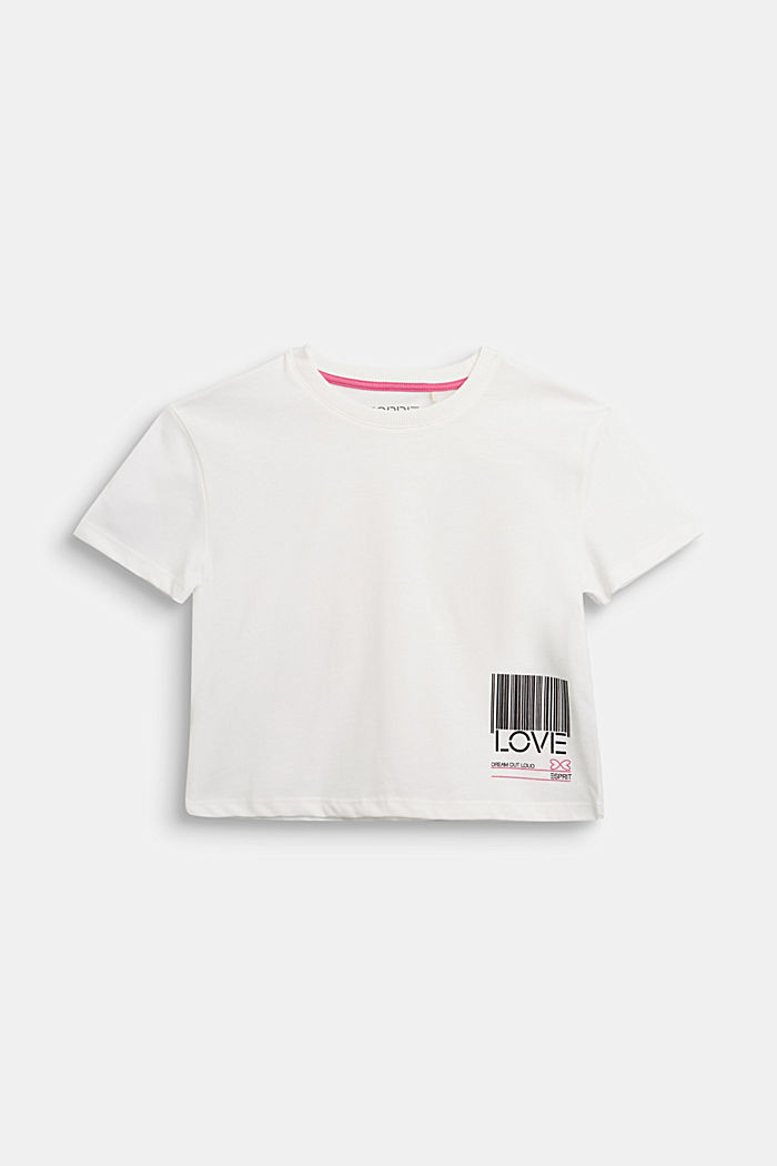 Jersey T-shirt in 100% cotton, SKIN BEIGE, detail image number 0