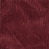 Corduroy rok met elastische paperbag-band, BORDEAUX RED, swatch
