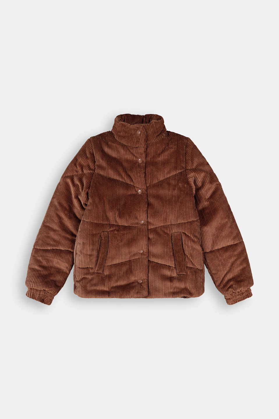 Esprit - Padded outdoor jacket made of corduroy