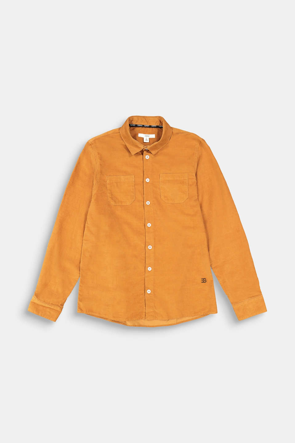 Esprit - Needlecord shirt in 100% cotton