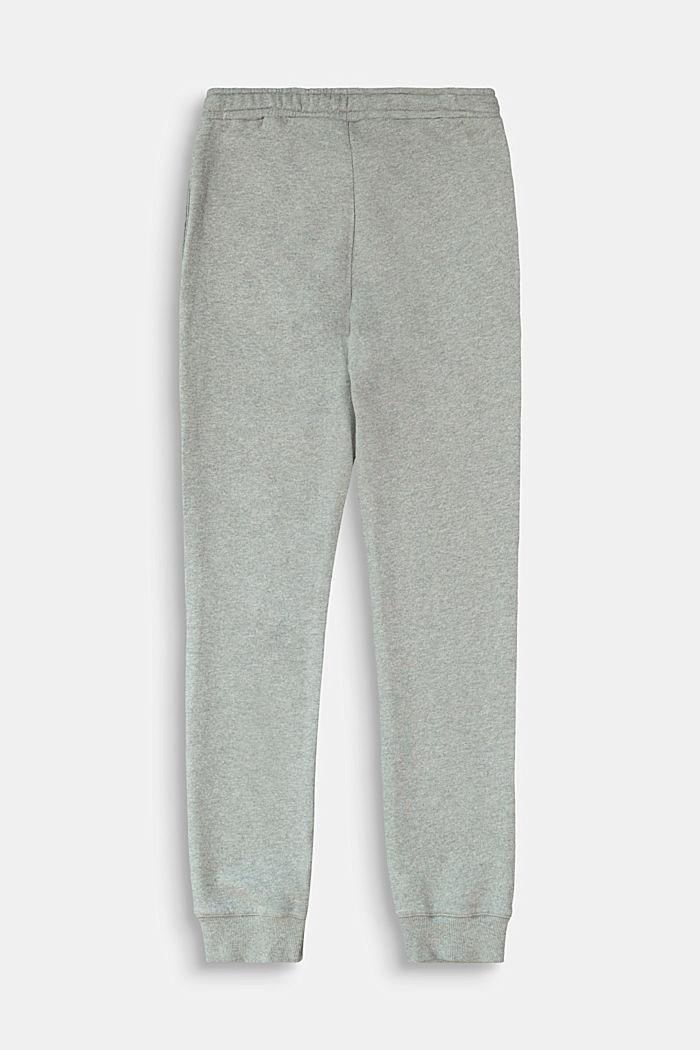 Pants knitted, DARK GREY, detail image number 1