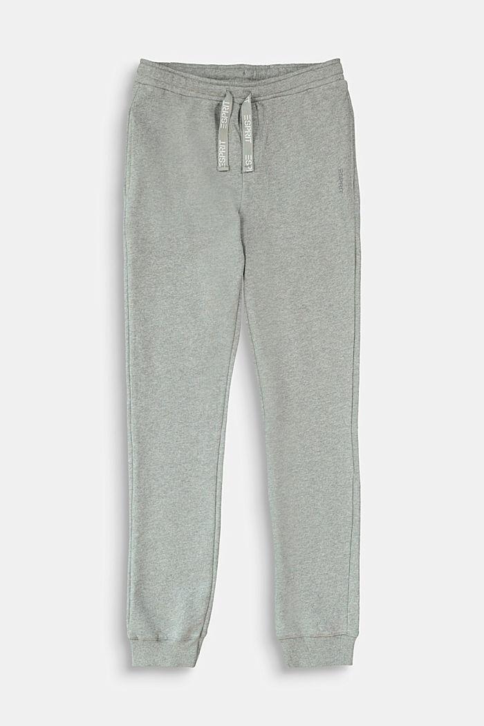 Pants knitted, DARK GREY, detail image number 0