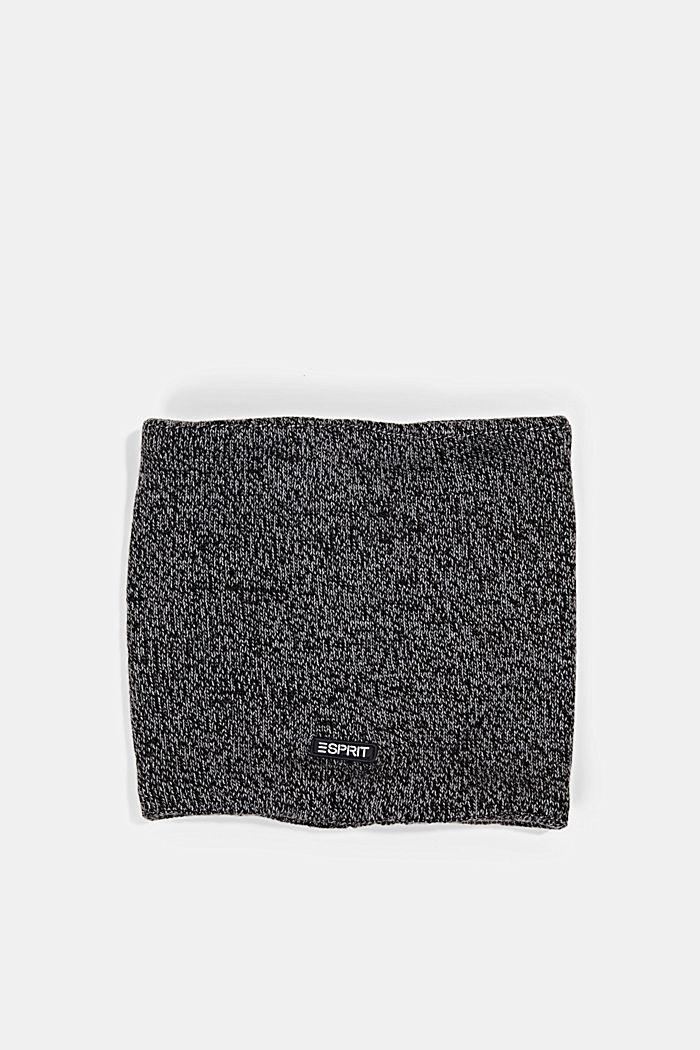 Fleece-lined snood, BLACK, detail image number 0