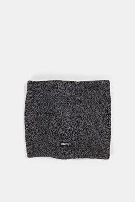 Fleece-lined snood, BLACK, detail