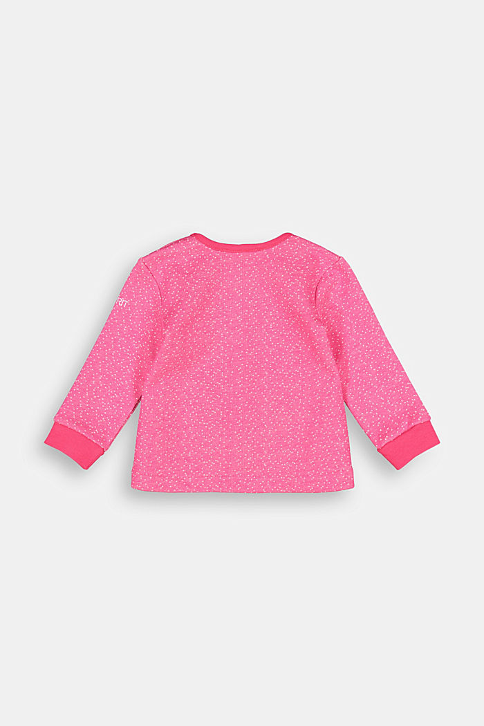 Sweatshirt with an elasticated detail and organic cotton