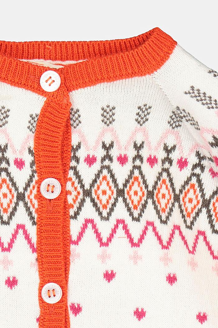 Cardigan made of 100% organic cotton, SKIN BEIGE, detail image number 2