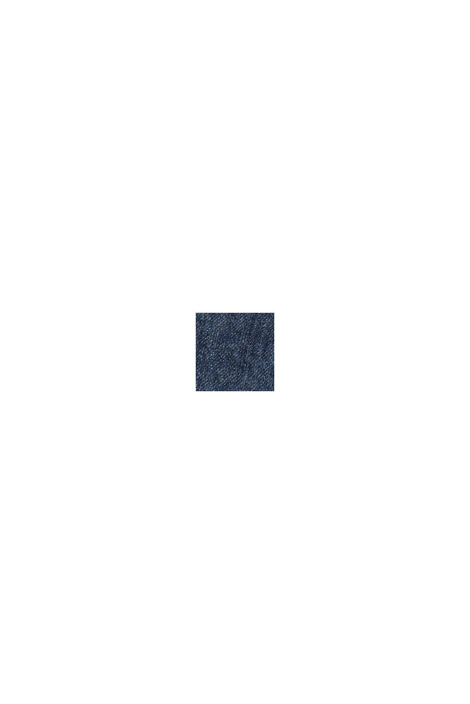 Jeans met bandplooien, BLUE MEDIUM WASHED, swatch