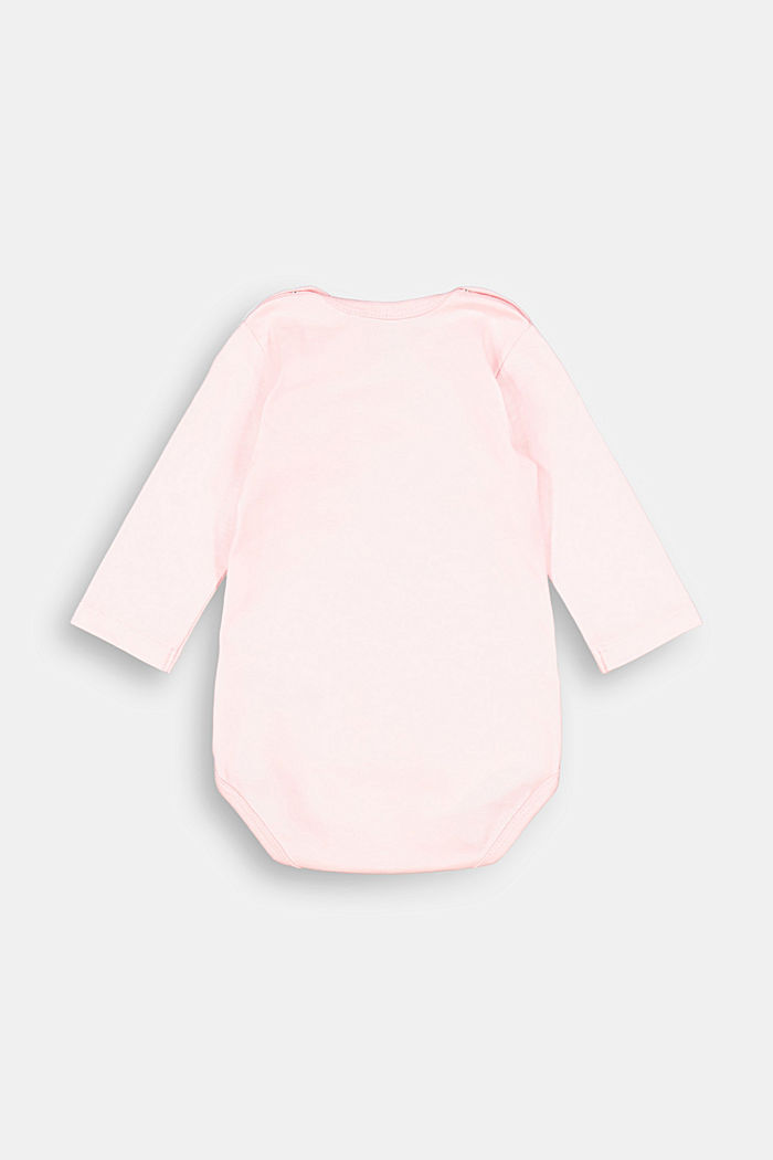 Bodysuit made of organic cotton with added stretch