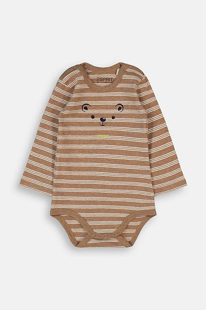 Bodysuit made of organic cotton with added stretch, TOFFEE, overview