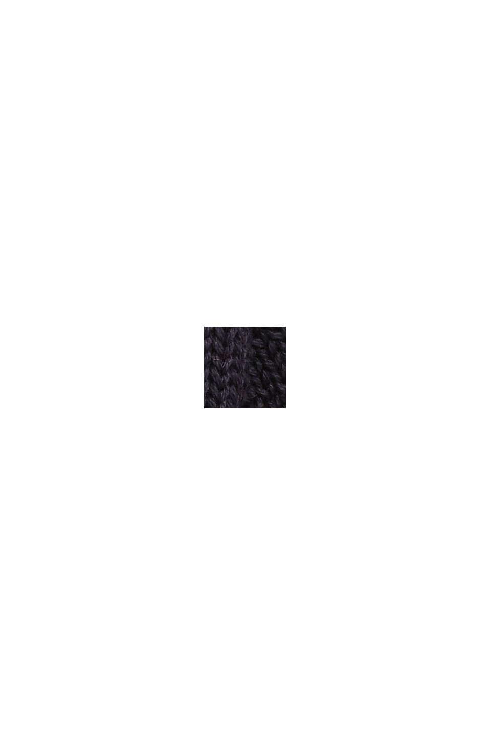 Mütze aus 100% Bio-Baumwolle, NAVY, swatch