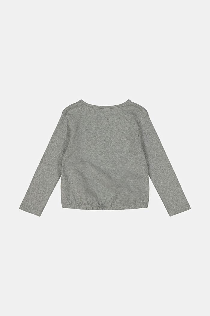 Longsleeve aus Baumwoll-Stretch