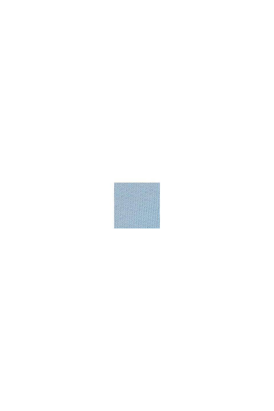 Sweat-shirt à logo, 100 % coton, BLUE LAVENDER, swatch