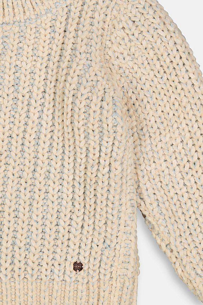 Pullover mit Kontrastgarn, BLUE LAVENDER, detail image number 2
