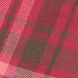 Cotton check skirt, DARK PINK, swatch