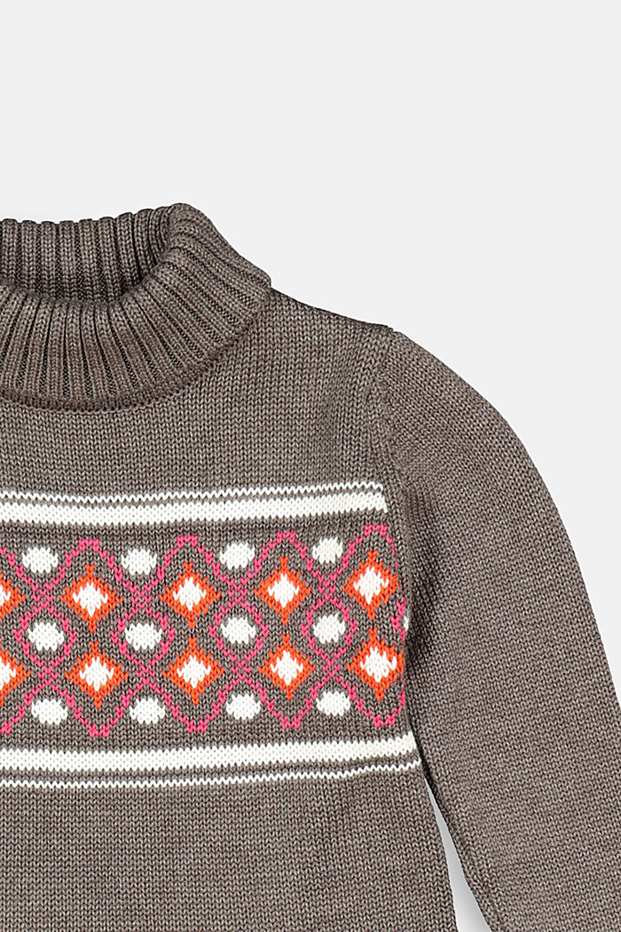 Dresses knitted, BARK, detail image number 2