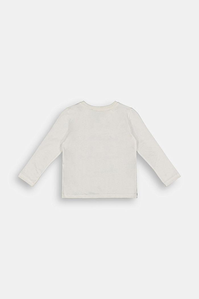 Print-Longsleeve aus 100% Baumwolle
